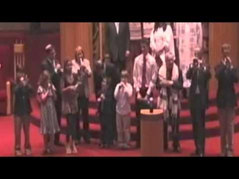 Shofar blowing on Yom Kippur