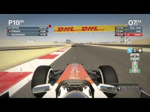 F1 2012 - Grand Prix Bahrajnu Wyścig