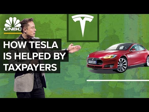 How Elon Musk And Tesla Benefit From Tax Breaks