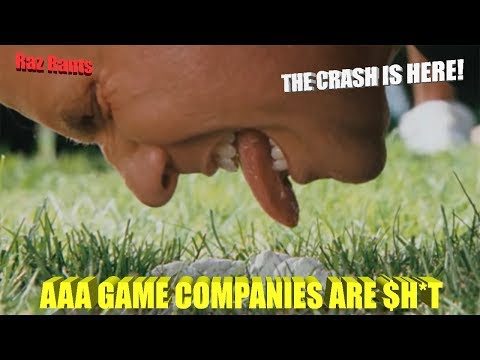 The AAA game industry is a crashing piece of $h*t