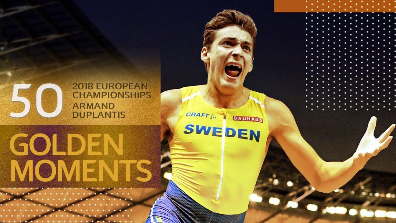 Download Duplantis wins historic pole vault in Berlin   50 Golden Moments