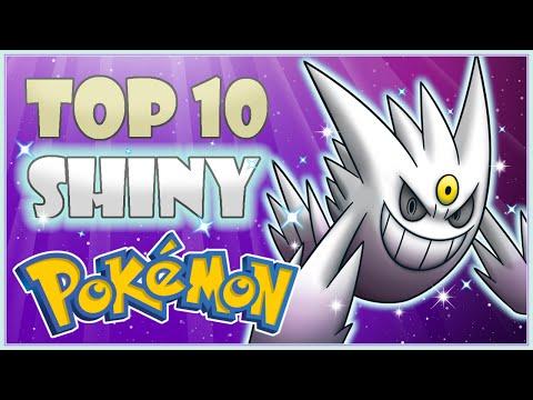 Top 10 Shiny Pokemon | My Personal List of Favorites! | CWpoke Top 10