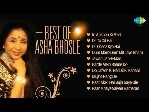 Best Of Asha Bhosle - Superhit Songs - Best Bollywood Songs - Asha Bhosle Solo Songs