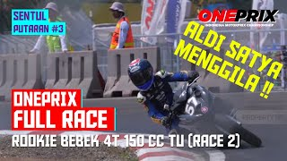 [HD] Full Race 2 Rookie Bebek 4T 150 CC Tune Up Injection || One Prix Putaran #3