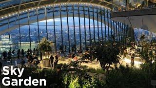 Sky Garden - London At Sunset