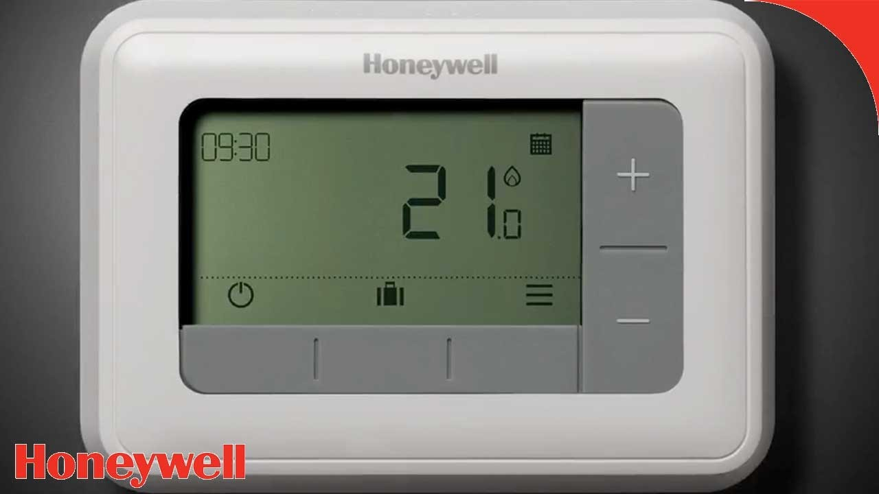 Thermostaat Elektrische Vloerverwarming Vervangen T4 Serie Programmeerbare Thermostaten Honeywell Home