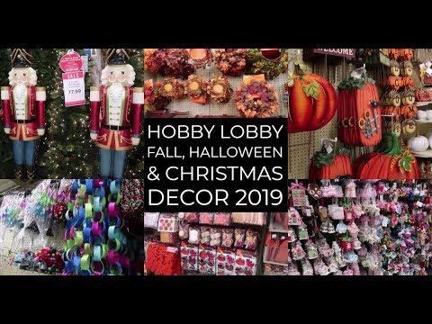 Hobby Lobby: Fall, Halloween & Christmas Décor 2019