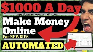 How to make money online 💰 $1000 per day automated 💵( for newbies)