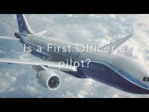 Is the First Officer a pilot? Mentour Pilot explains