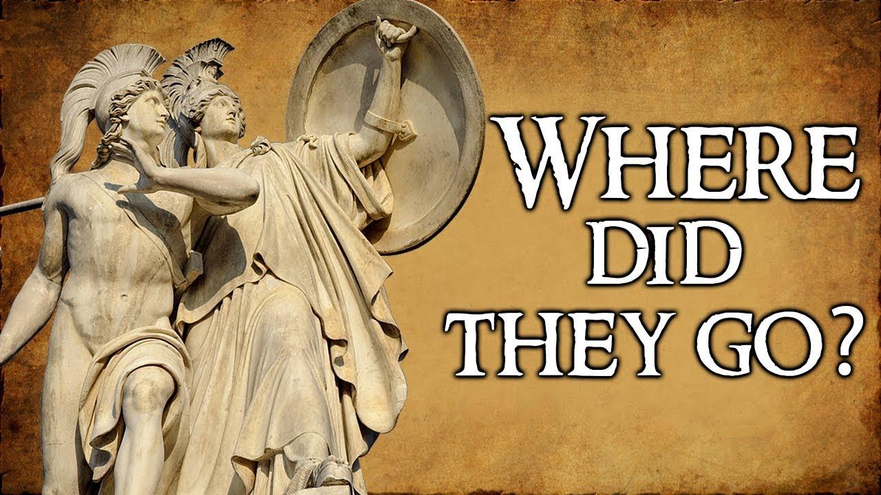 What Happened To The Greek Gods Goddesses Greek Mythology Explained Youtube