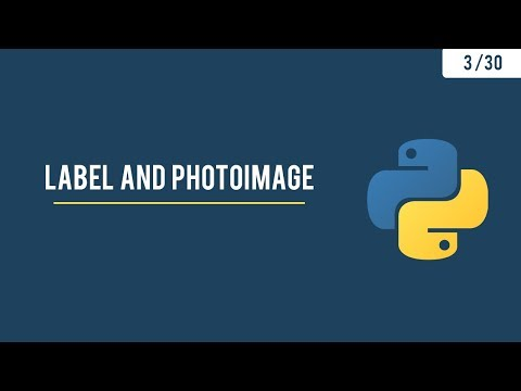 Python GUI with Tkinter - Text and Images - 3/30