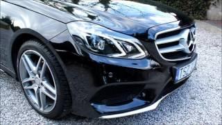 Mercedes-Benz E-Class 220 CDI AMG 2015 review start up sound