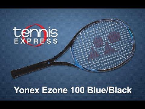 Yonex Ezone 100 Blue Tennis Racquet Review Tennis Express Youtube