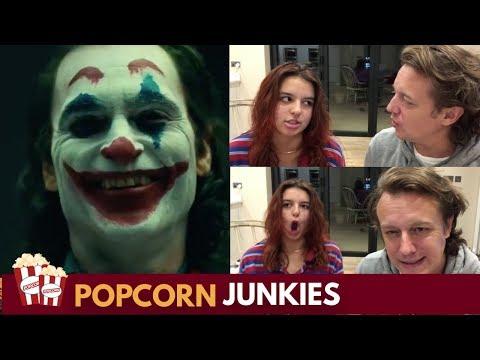 The Joker Joaquin Phoenix Screen Test & in Full Make Up Nadia Sawalha & Family Reaction