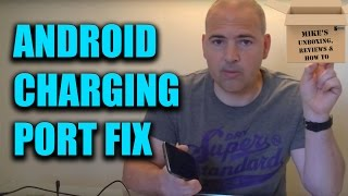 Charging Port Fix - Phone Or Tablet Not Charging Or Slow Charging FIX