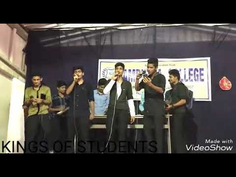 LIVE PERFORMANCE ( KING'S OF STUDENTS)