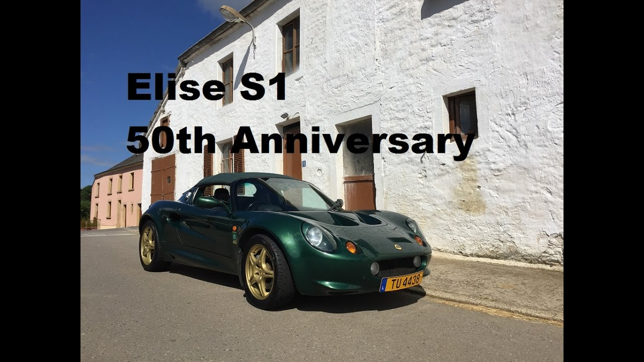 Lotus Elise S1 50th Anniversary 1998 full review and drive - YouTube