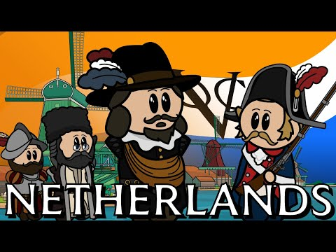 The Animated History of The Netherlands