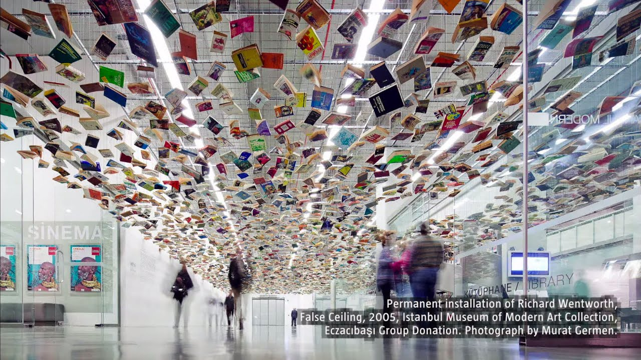 Ima Book Drive For Richard Wentworth False Ceiling