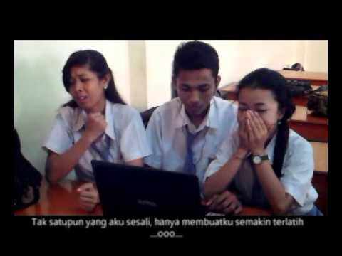Terlatih patah hati - The Rain feat. Endank Soekamti ( Cover Video Clip By SMATARA XII IPA)