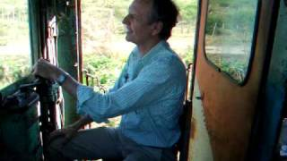 Willy drives the Hershey train in Cuba