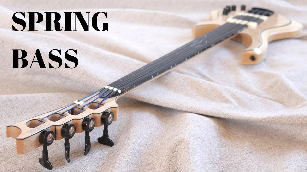 Making a Fretless Custom Spring Bass - full build