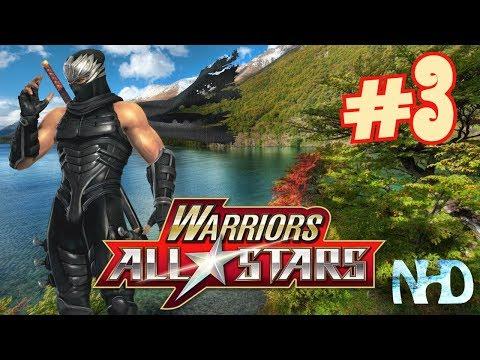 Let's Play Warriors All-Stars (pt3) Ryu Hayabusa - Come across Hajime Arima