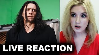 The Disaster Artist Trailer REACTION