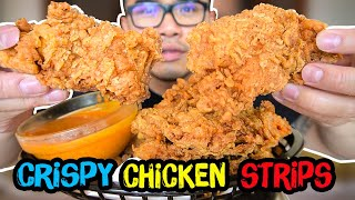 Your best ever Crispy CHICKEN STRIPS