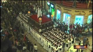 Semana Santa Málaga: El Señor de la Humillación en doble curva | 101tv Málaga