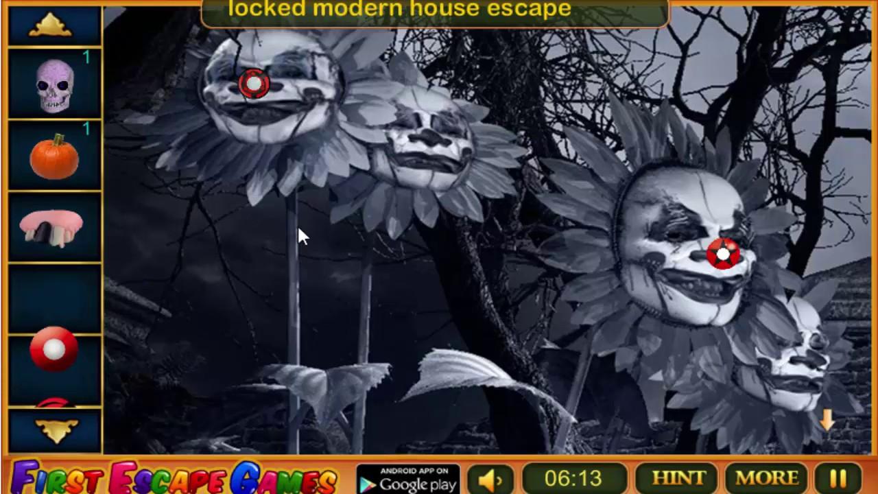 Halloween Zombie Escape Walkthrough Firstescapegames Youtube