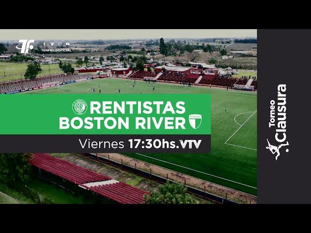Fecha 2 - Rentistas vs Boston River - Clausura