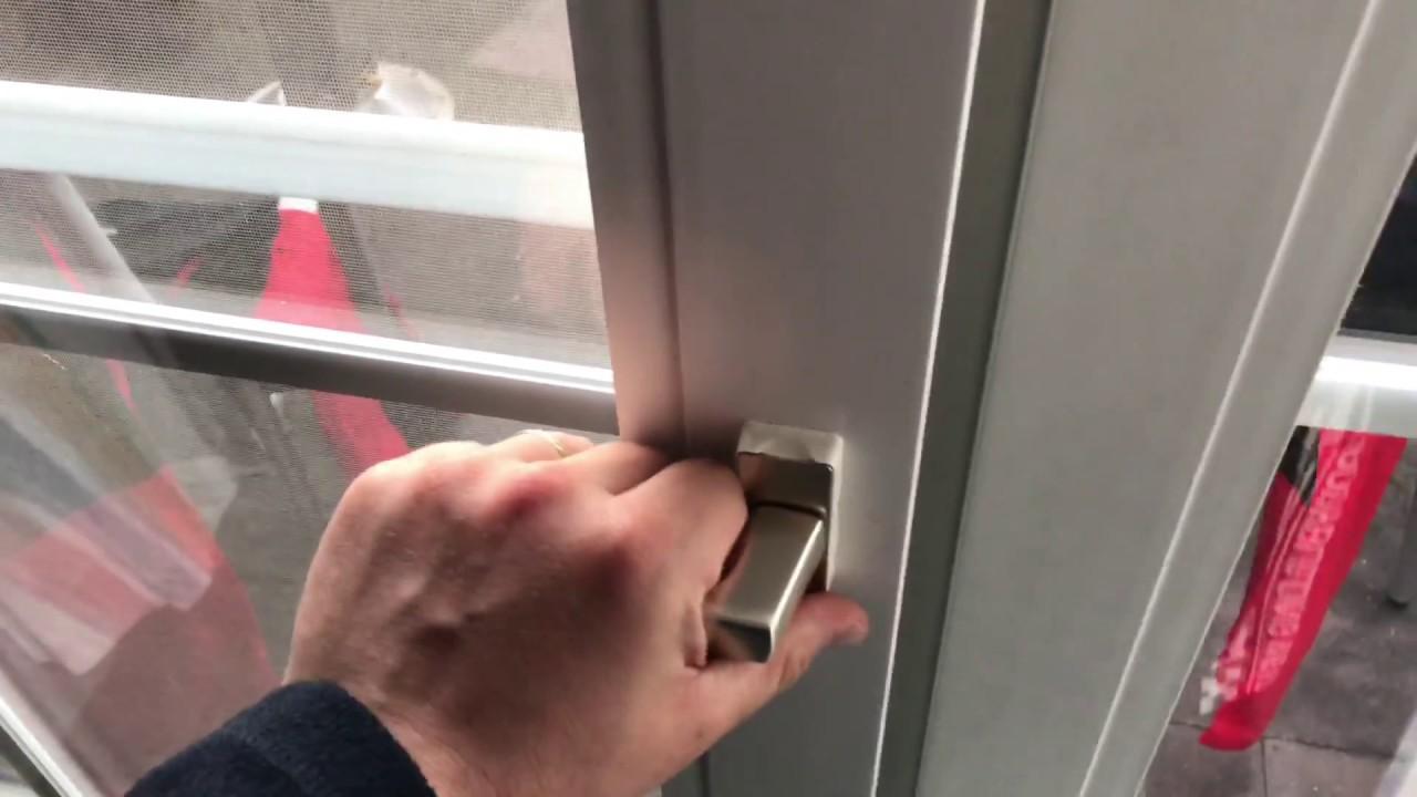 Gut bekannt Terrassen Tür benutzen öffnen und schließen Kippfunktion und GO66
