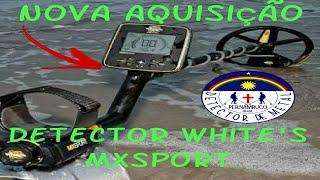 Nova Aquisição Detector de Metal MX Sport da Whites