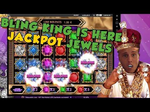BIG WIN!!!!! Jackpot jewels bonus round from LIVE STREAM (Casino Games)