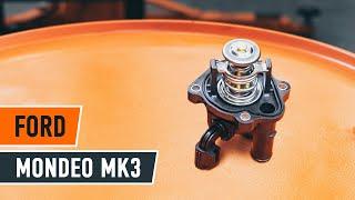 Remplacement Filtre à Carburant FORD MONDEO : manuel d'atelier