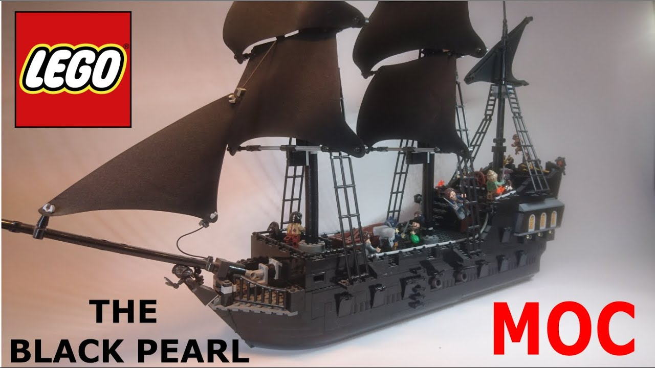 Lego Black Pearl Moc Pirate Ship Pirates Of The
