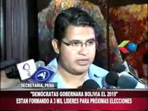 25092017   VLADIMIR PEÑA   DEMOCRATAS GOBERNARA BOLIVIA   GIGA