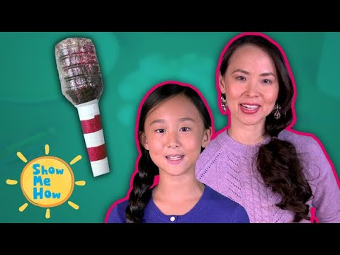 DIY Water Bottle Shaker Kids Craft WITH BLOOPERS | Show Me How by Mother Goose Club Schoolhouse