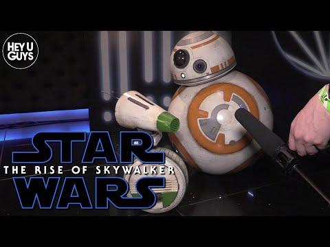 Droids BB-8 & D-O on Star Wars The Rise of Skywalker - European Premiere