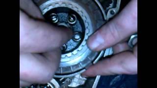Сборка корзины сцепления мотоцикла минск