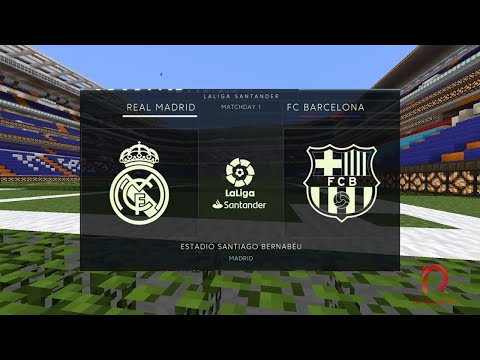 Minecraft El Clasico 2019 | Real Madrid Vs Barcelona