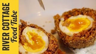 Chorizo Scotch Egg | Freyja Davis