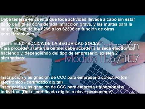 código-cuenta-de-cotización-ccc-en-la-seguridad-social-de-empresas