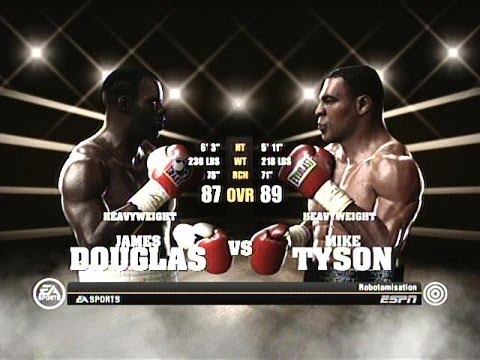 "Fight Night Round 4 - ""Buster"" Douglas vs Mike Tyson - Xbox 360"