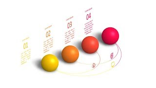 3d sphere process slide in powerpoint. Powerpoint tricks