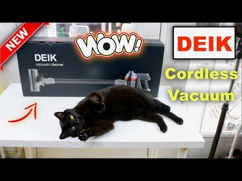 😍   DEIK  ❤️    2 in 1 Cordless Vacuum Cleaner – Review (New) 2018   ✅