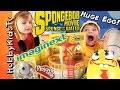 SpongeBob Out of Water MOVIE Toys! HobbyKids