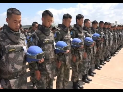 People Mourn Chinese Peacekeepers in South Sudan