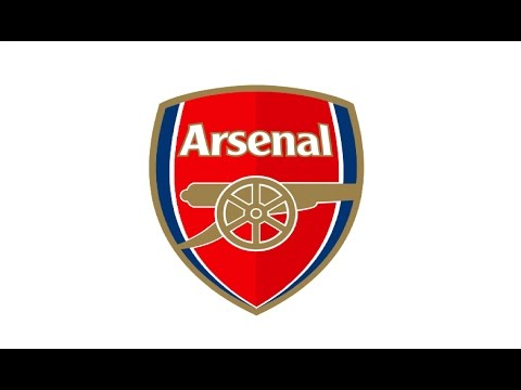 How to Draw a FC Arsenal logo / Как нарисовать знак фк ...